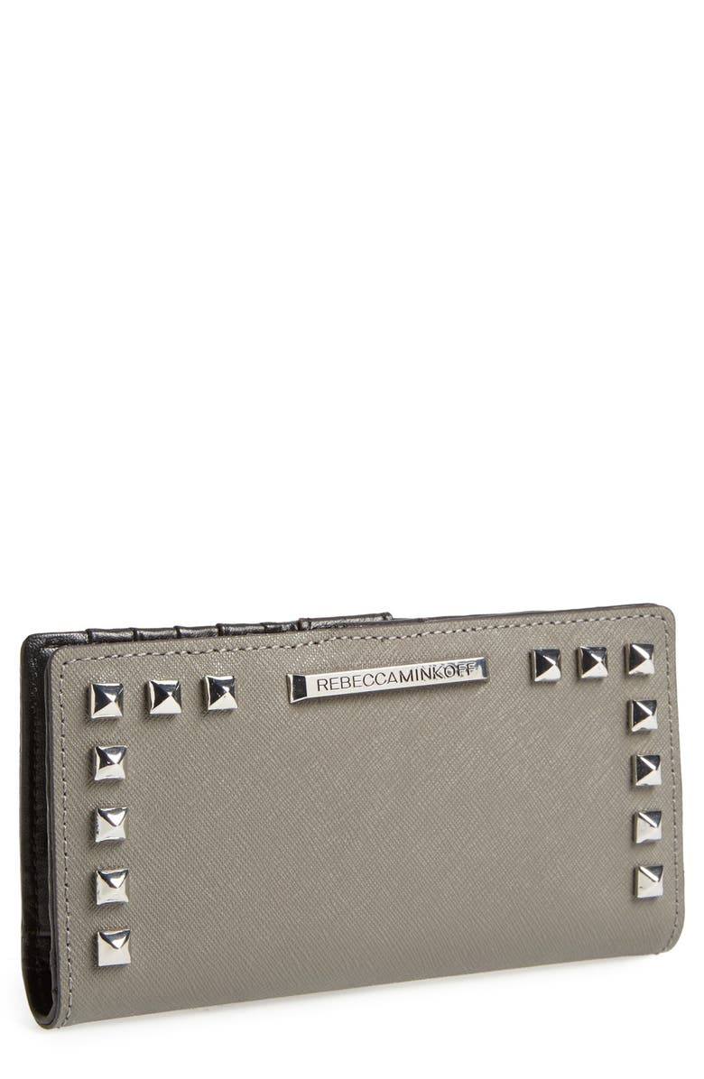 REBECCA MINKOFF 'Sophie' Snap Wallet, Main, color, 020