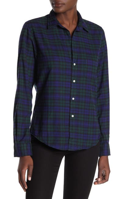 Image of FRANK & EILEEN Barry Plaid Long Sleeve Shirt