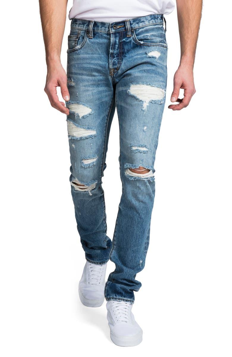 PRPS Le Sabre Slim Fit Jeans, Main, color, CYLINDERS