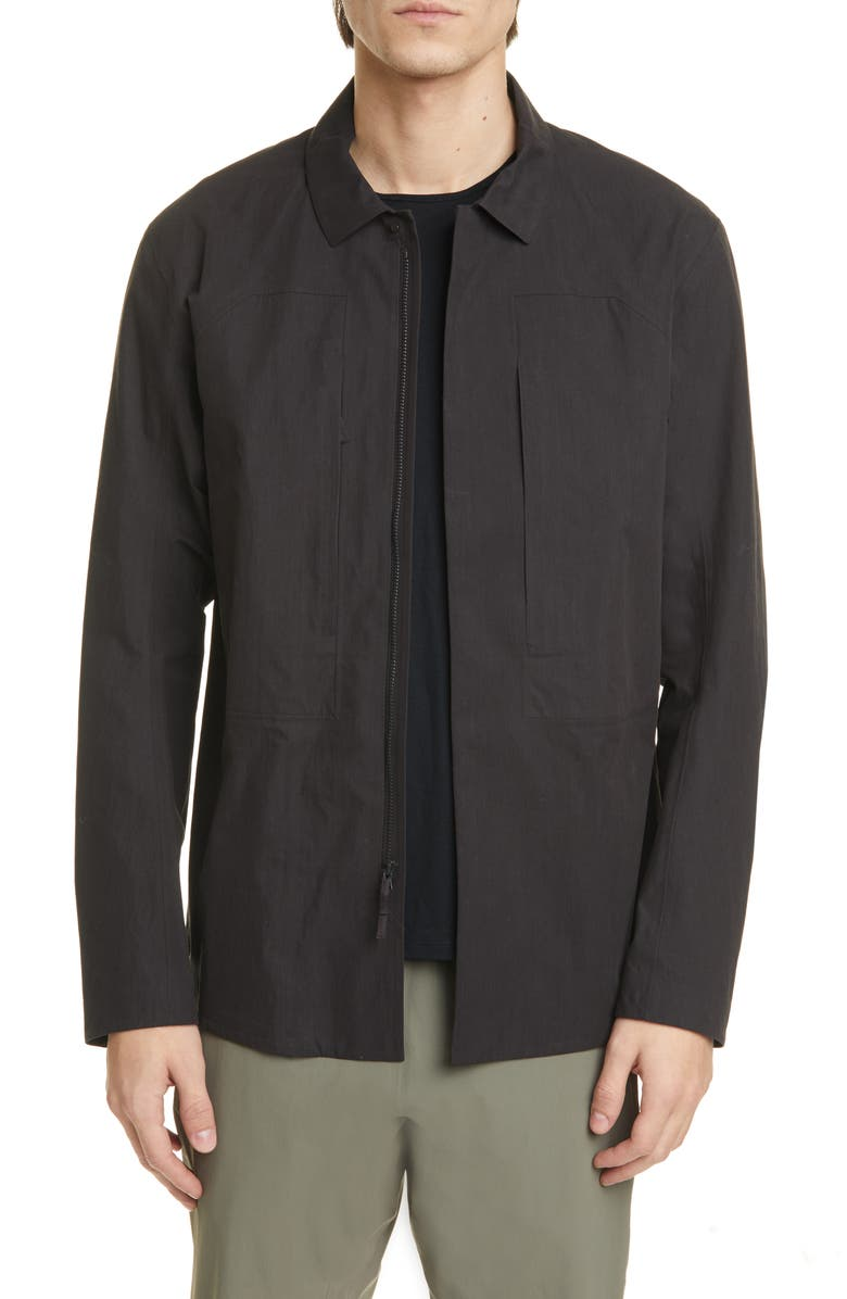 VEILANCE Component Water Resistant Shirt Jacket, Main, color, 001