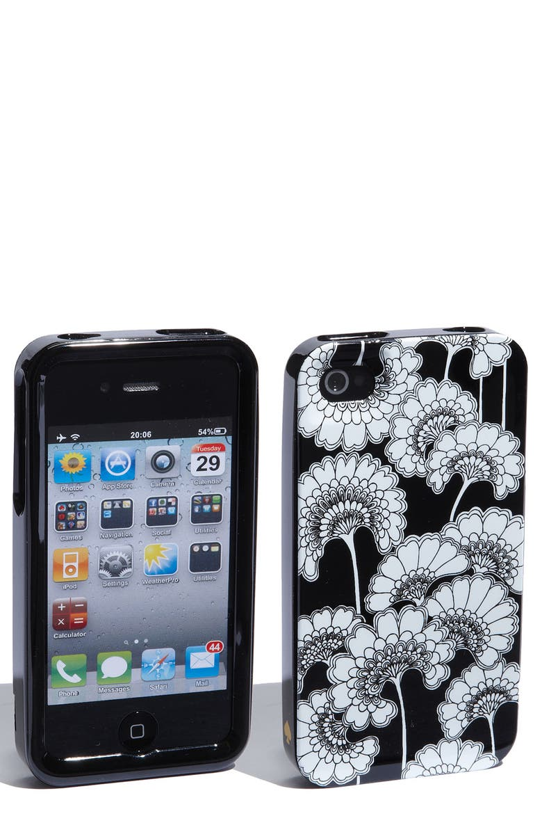 KATE SPADE NEW YORK 'japanese floral' iPhone 4 & 4S case, Main, color, 004