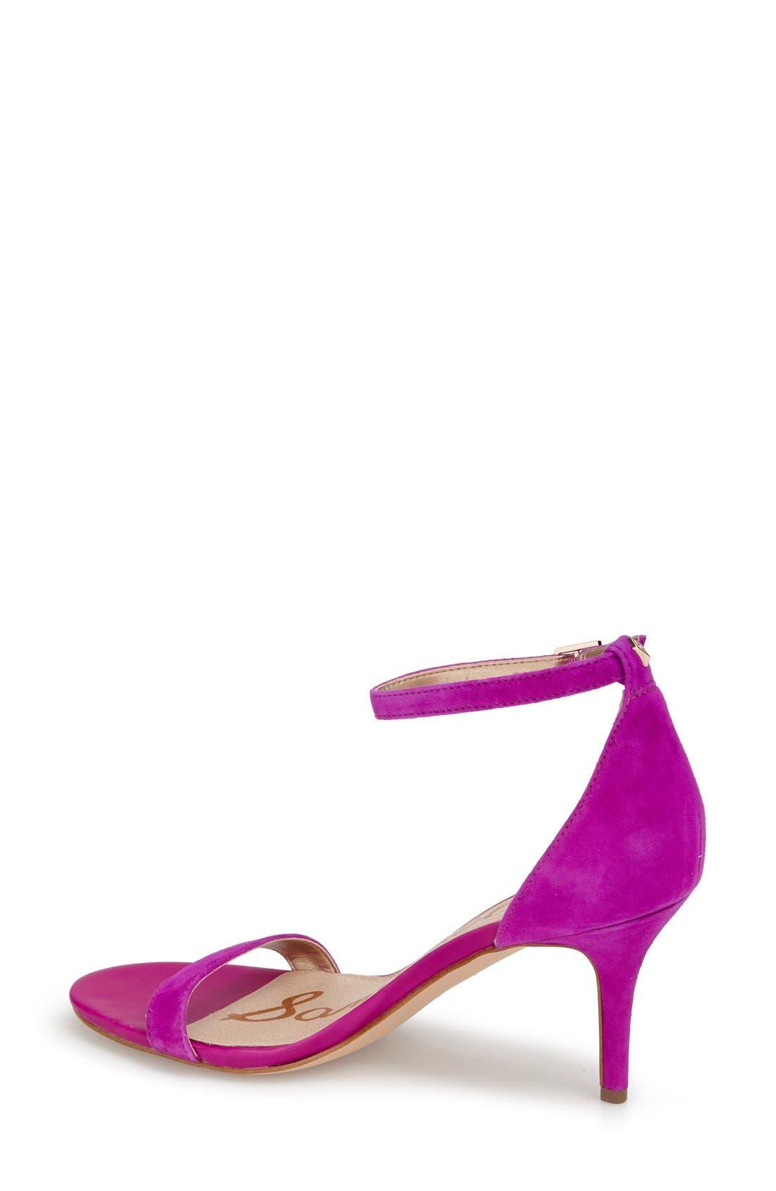,                             'Patti' Ankle Strap Sandal,                             Alternate thumbnail 205, color,                             651