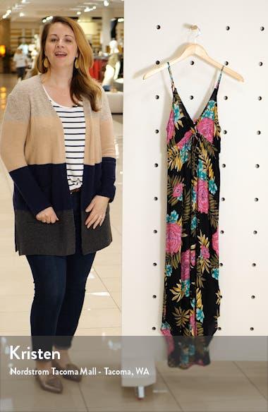 Like Minded Curve Hem Maxi Dress, sales video thumbnail