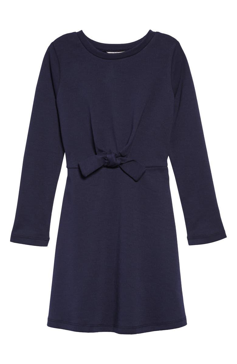 HABITUAL Kaydence Long Sleeve Ponte Knit Dress, Main, color, 410