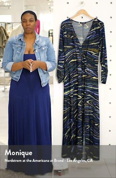 Wrap Front Maxi Dress, sales video thumbnail