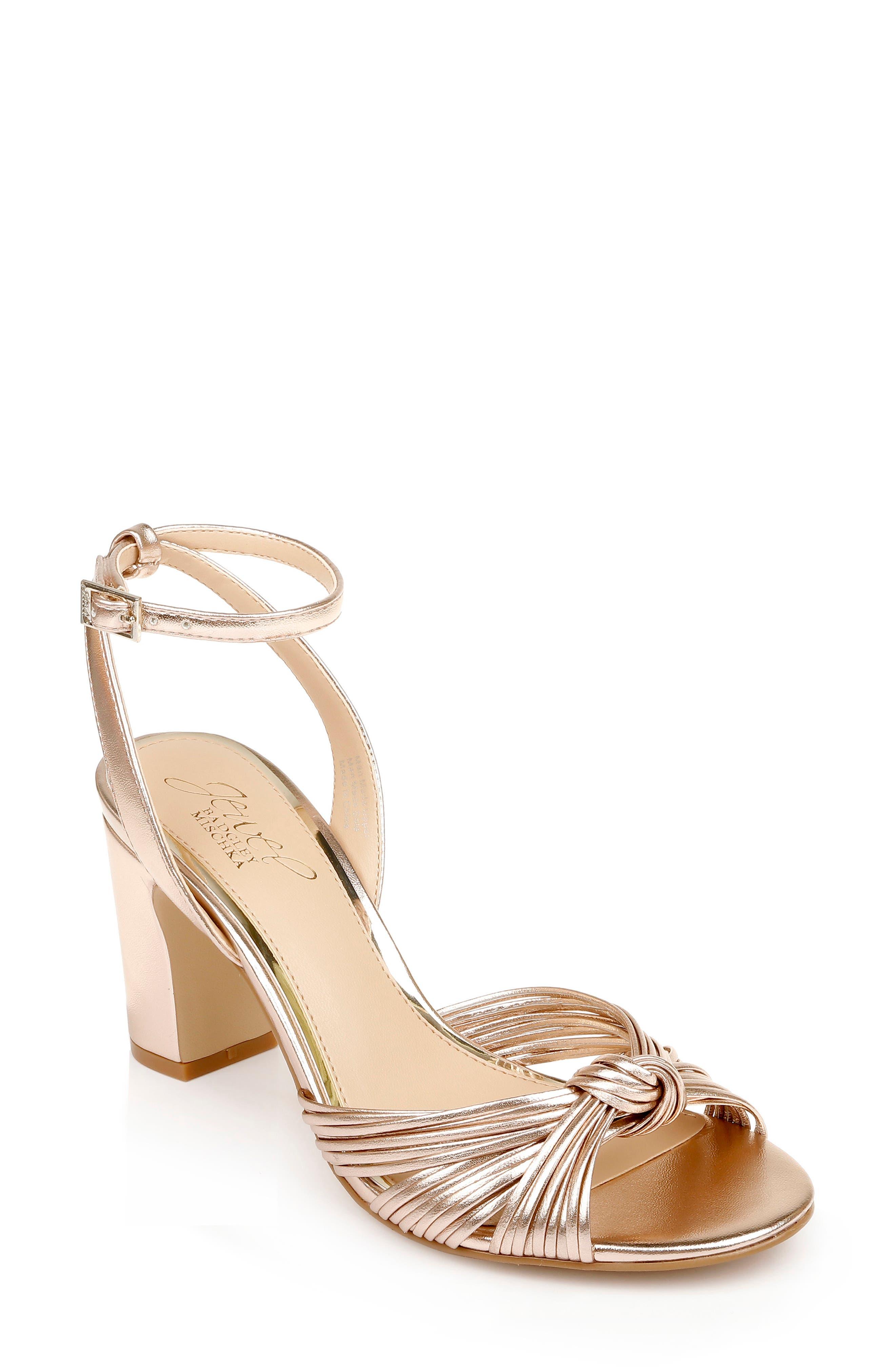 Christen Block Heel Sandal