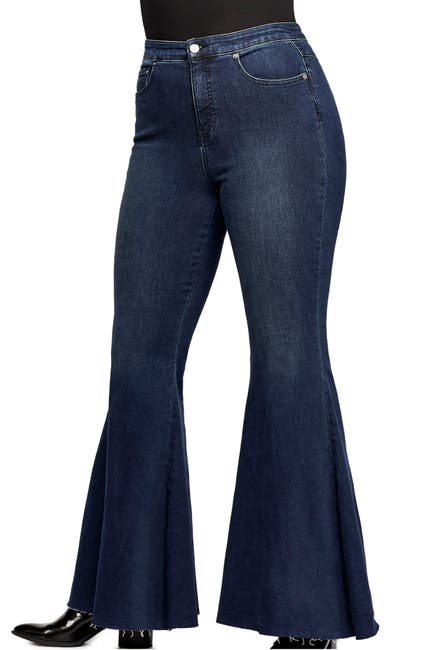 Image of Free People CRVY by Free People Ma Cherie High Waist Flare Jeans