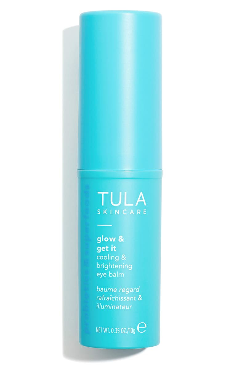 TULA PROBIOTIC SKINCARE Glow & Get It Cooling & Brightening Eye Balm, Main, color, NO COLOR