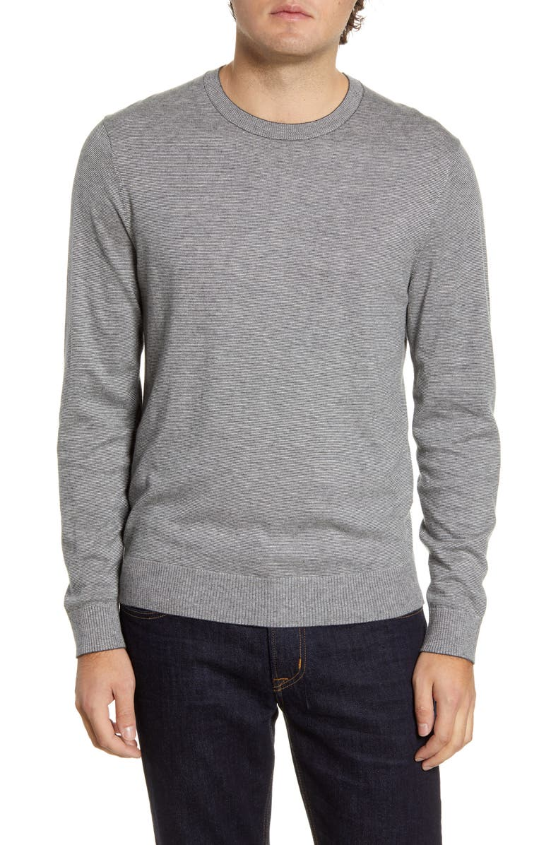 BONOBOS Lightweight Stripe Sweater, Main, color, 020