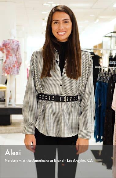 Blouson Waist Lace A-Line Gown, sales video thumbnail