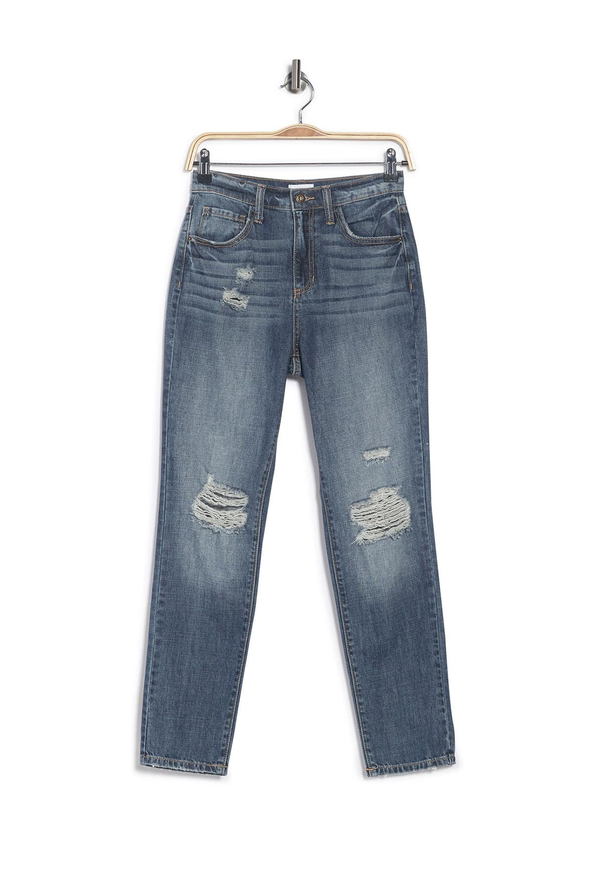 Image of Sneak Peek Denim High Rise 90s Retro Skinny Jeans