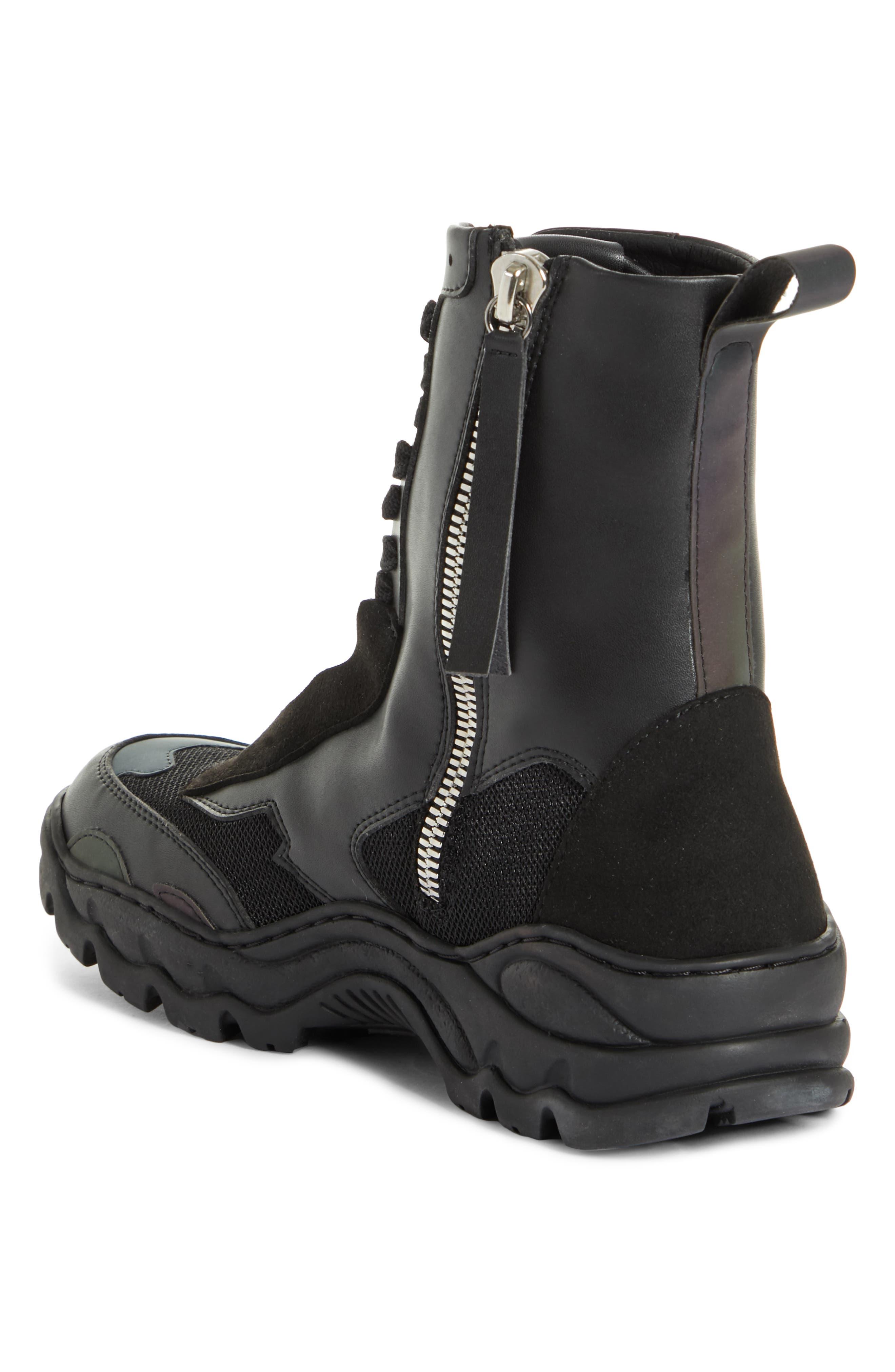 ,                             Boccaccio Sneaker Bootie,                             Alternate thumbnail 2, color,                             CARBON