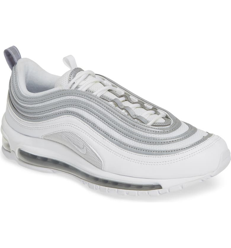 316e7eb5ff Air Max 97 Sneaker, Main, color, WHITE/ SILVER/ WOLF GREY