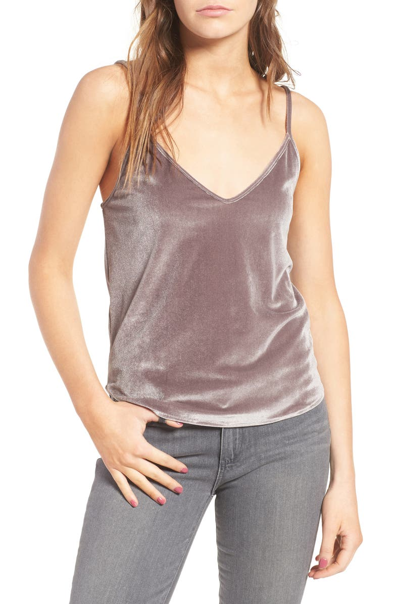 SINCERELY JULES Velvet Camisole, Main, color, 250
