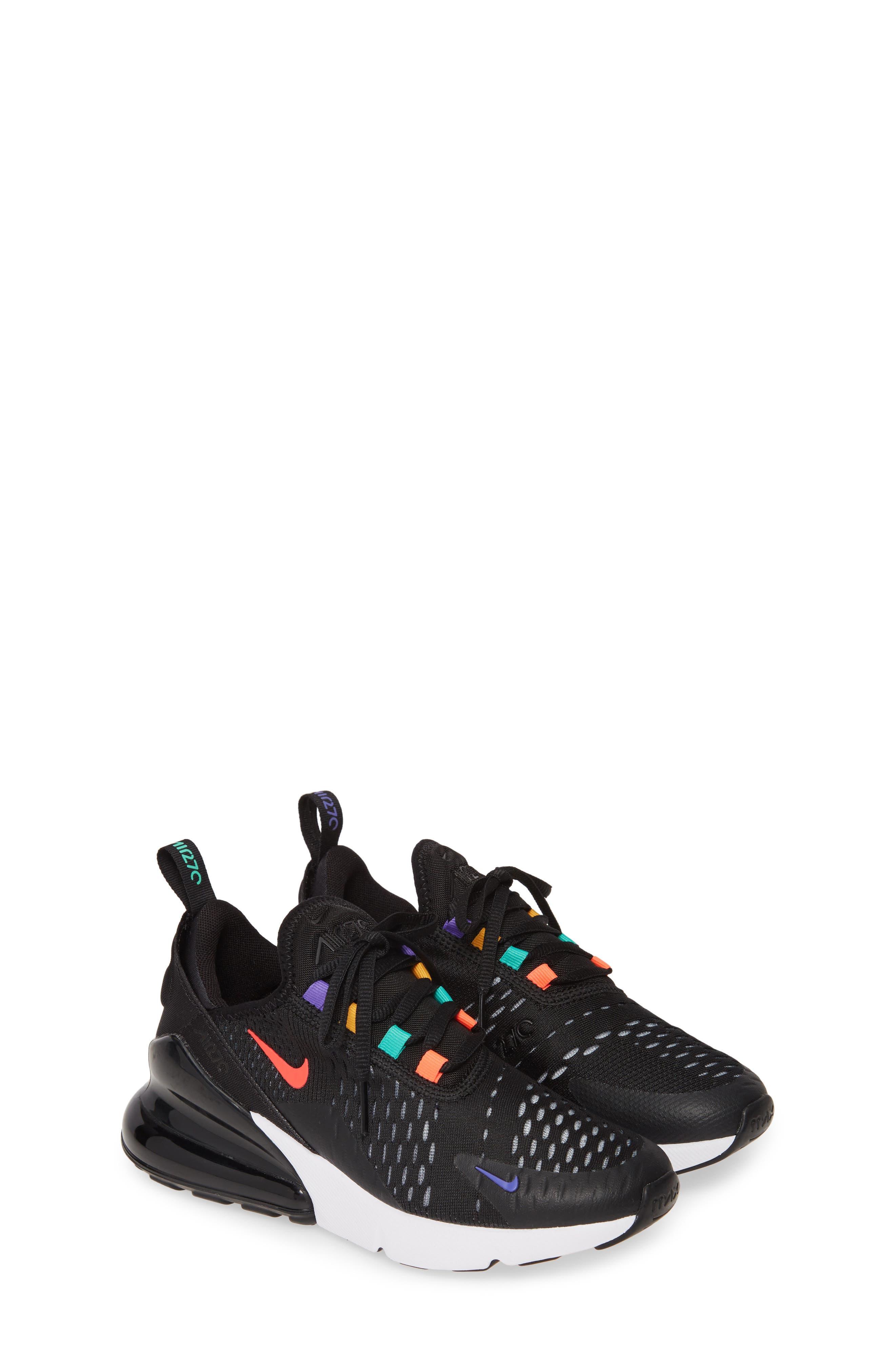 Kids Nike Air Max 270 Game Gs Sneaker Size 4 M  Black
