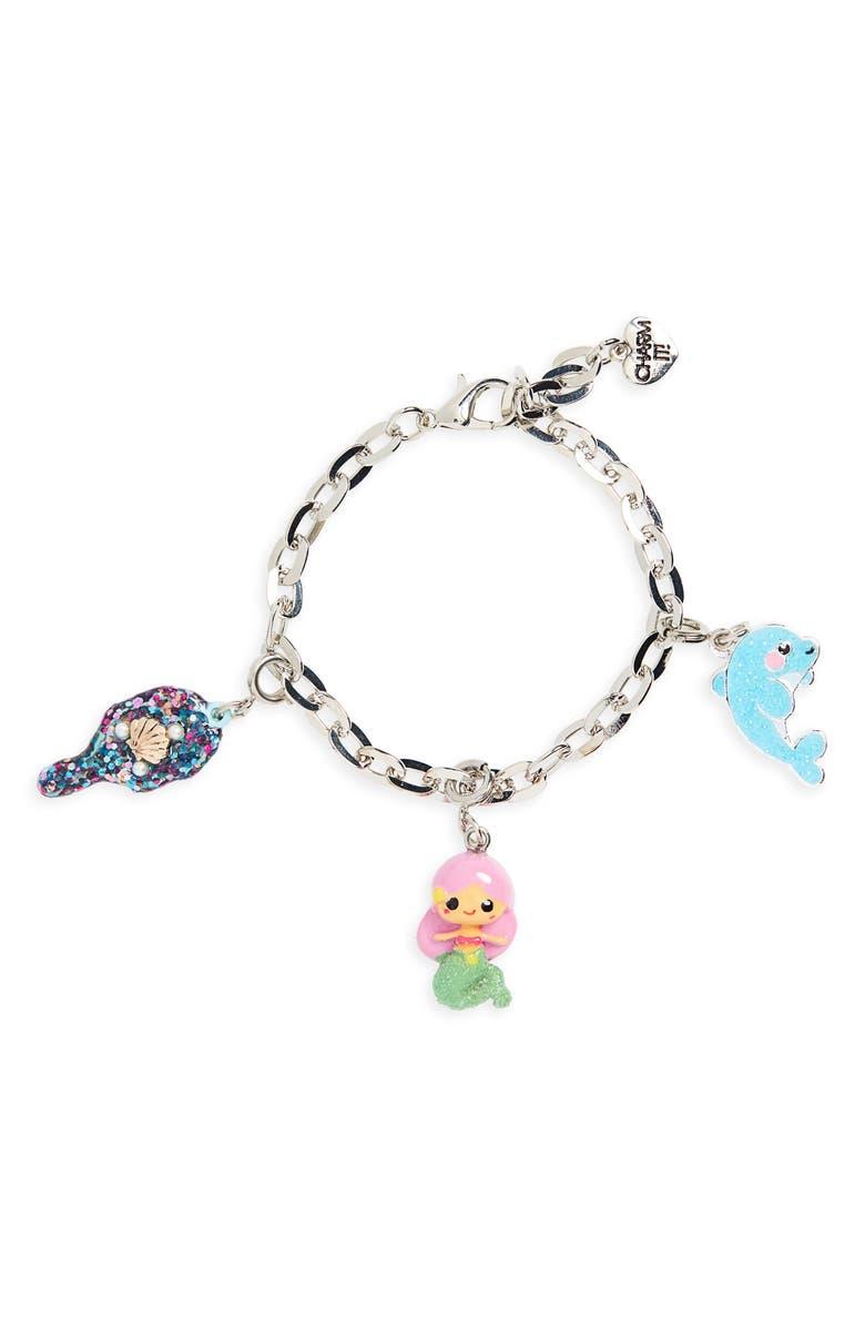 CHARM IT!<SUP>®</SUP> Mermaid Charm Bracelet Gift Set, Main, color, NO COLOR
