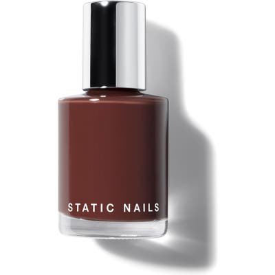 Static Nails Liquid Glass Nail Lacquer - Rich In Chocolate