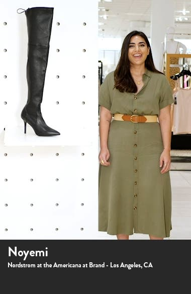 Carine Over the Knee Boot, sales video thumbnail
