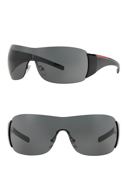 Image of PRADA LINEA ROSSA Shield 133mm Sunglasses