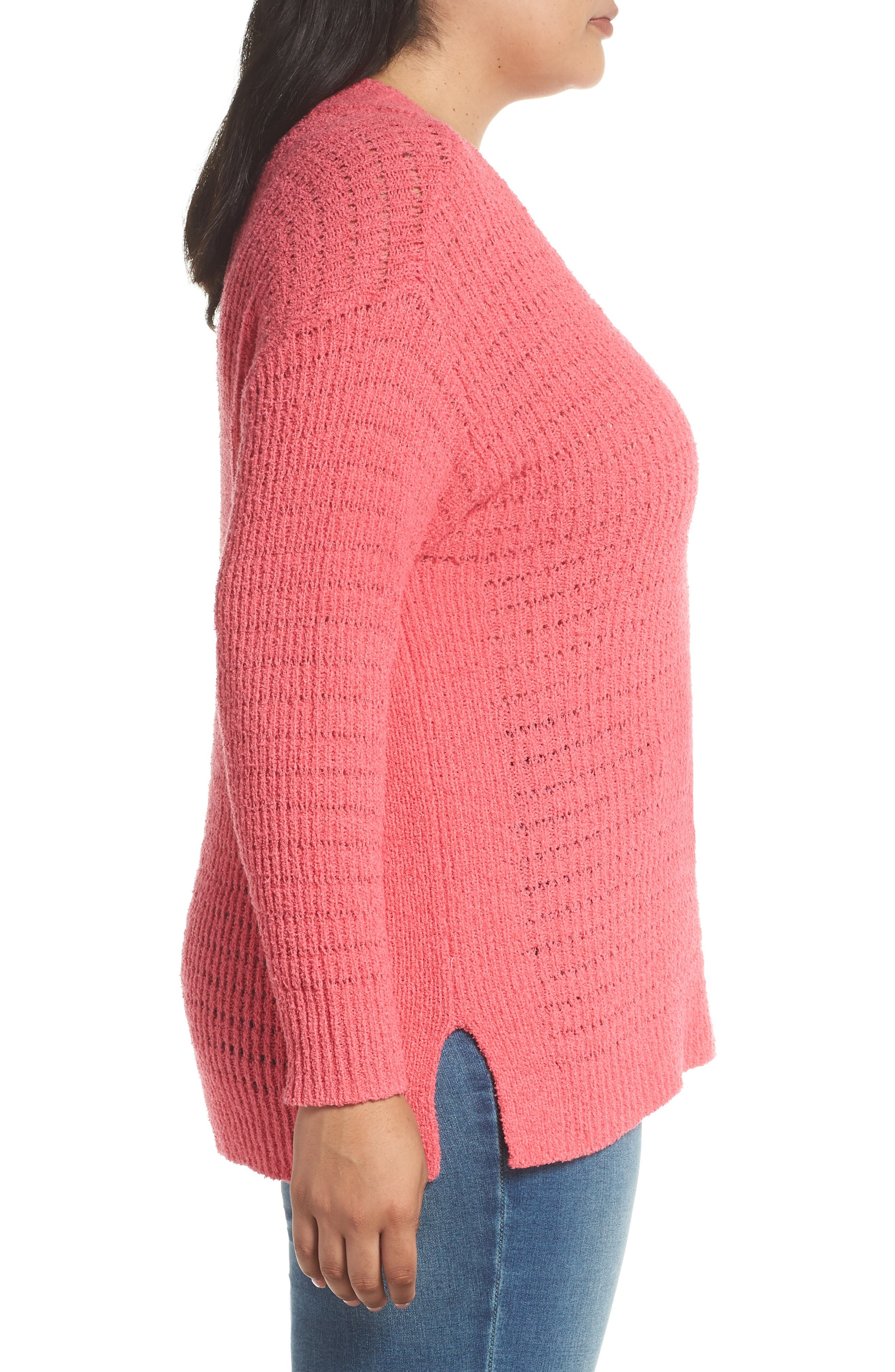 ,                             Tuck Stitch Sweater,                             Alternate thumbnail 15, color,                             651