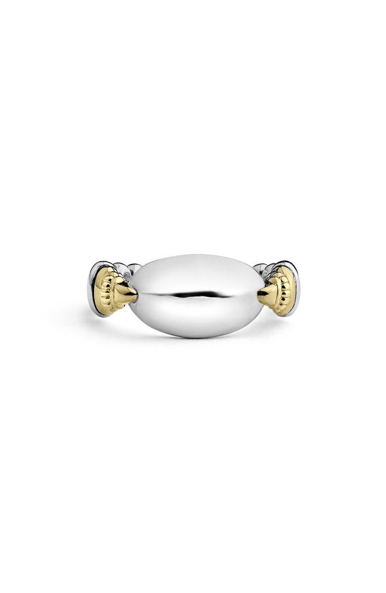 LAGOS Beloved Ellipse Ring, Main, color, SILVER