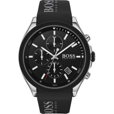 Boss Velocity Chronograph Rubber Strap Watch, 45Mm