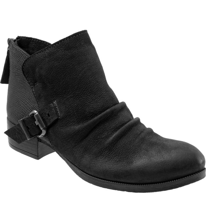 BUENO Maude Bootie, Main, color, BLACK NUBUCK