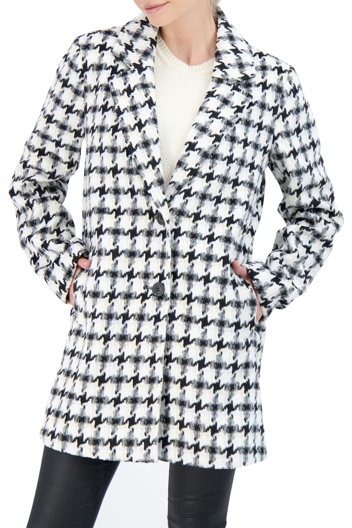 Image of Sebby Collection Single Breasted Topper Coat