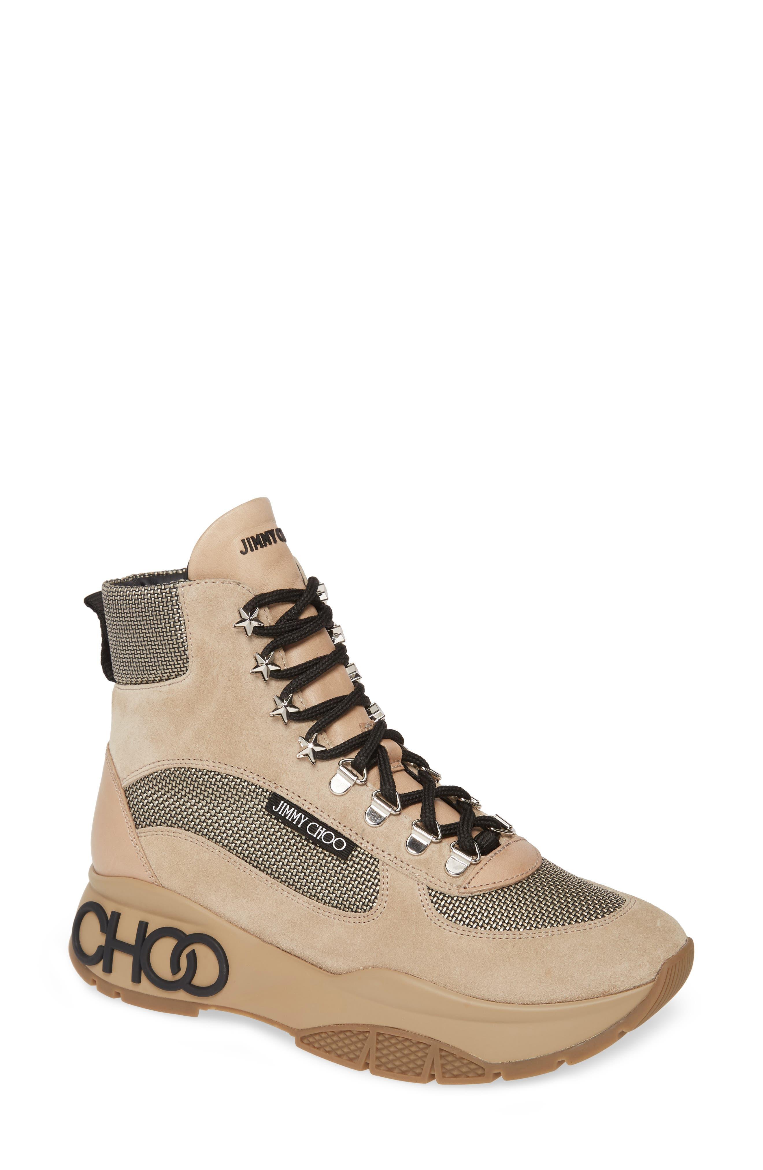 Jimmy Choo Sneakers Inca High Top Sneaker
