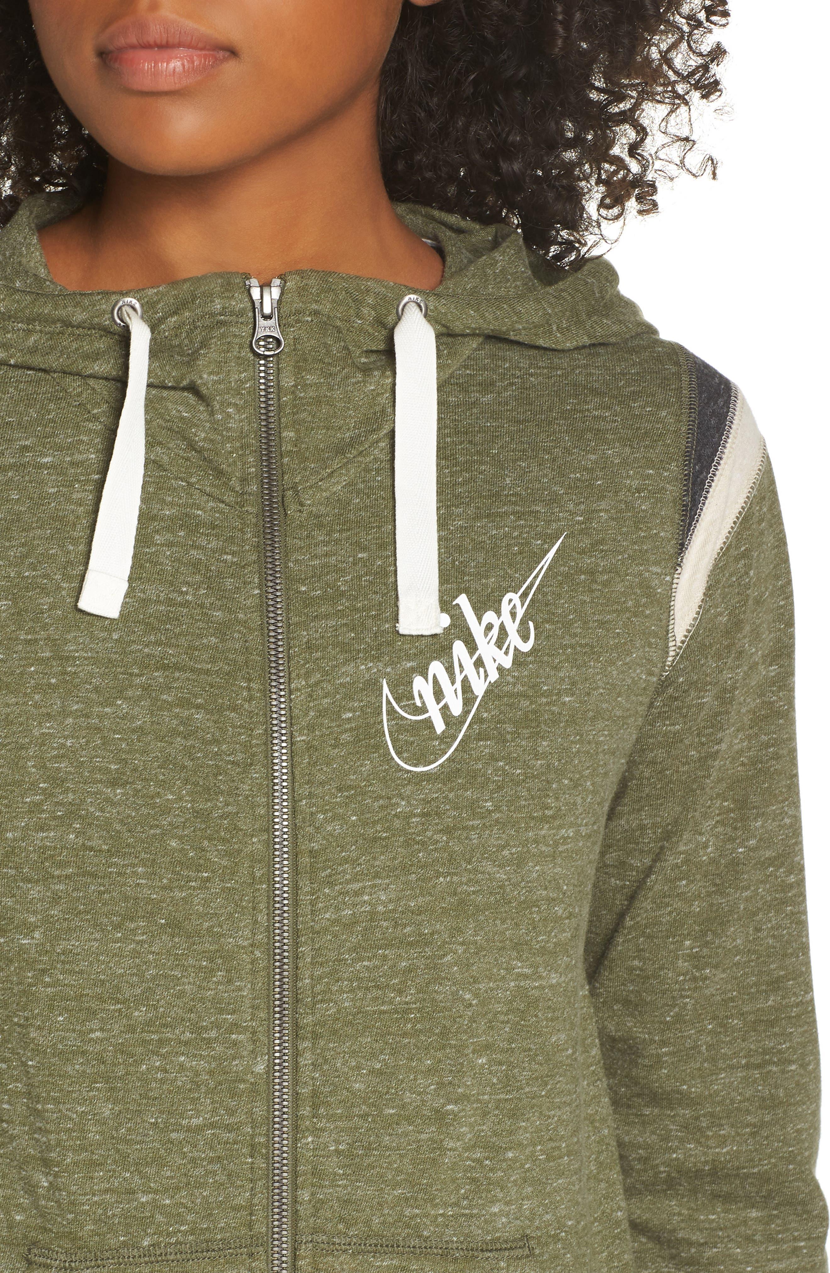 ,                             Sportswear Gym Vintage Zip Hoodie,                             Alternate thumbnail 24, color,                             395