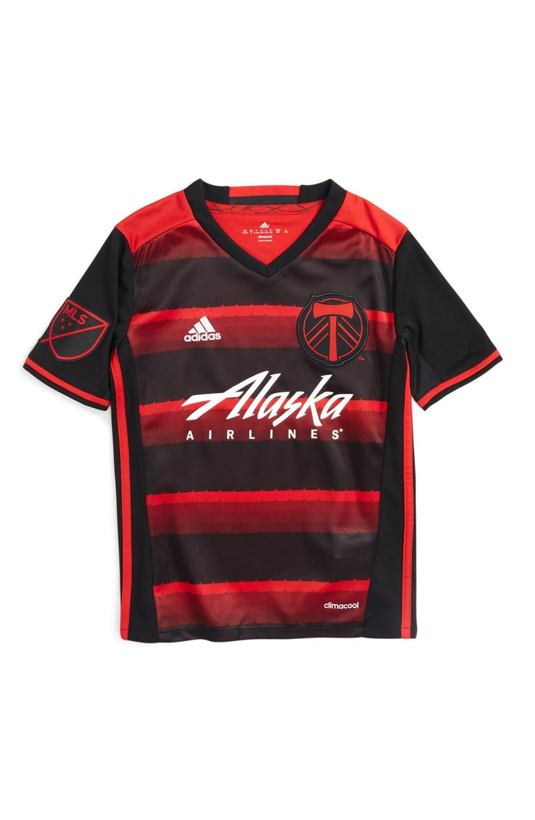 super popular c0d67 68108 adidas 'Portland Timbers' CLIMALITE® Secondary Soccer Jersey ...