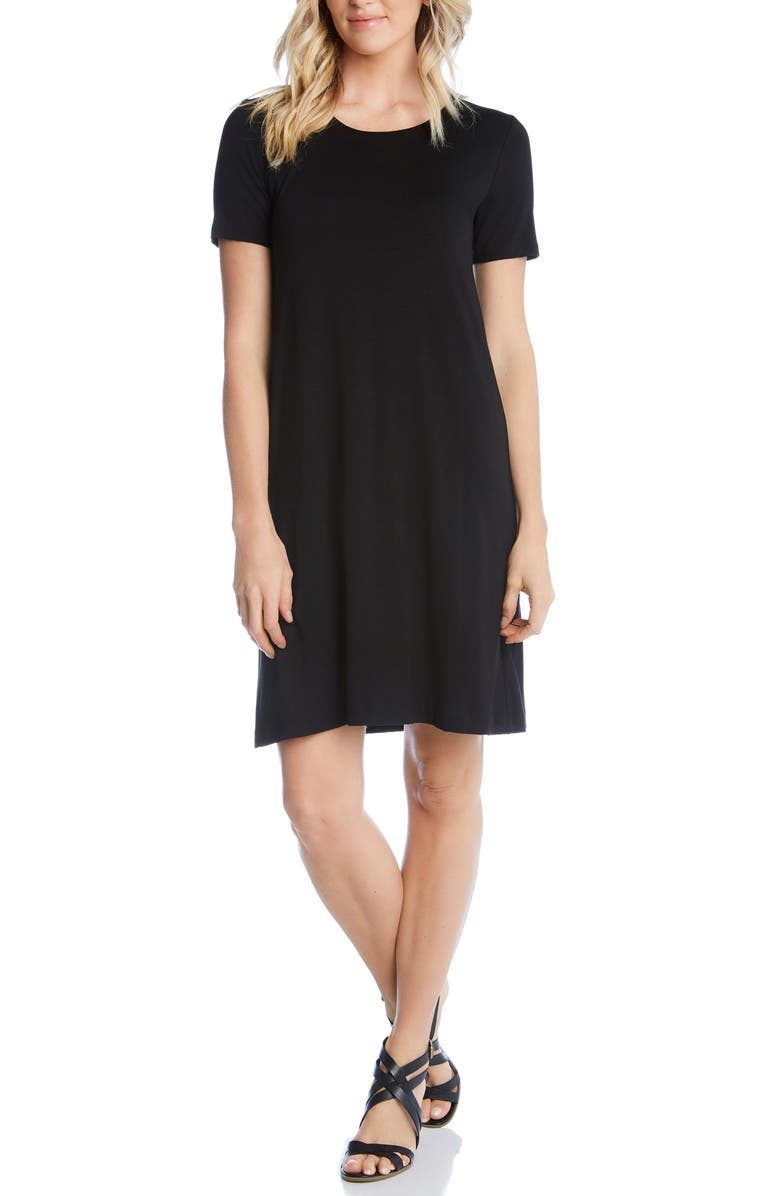 KAREN KANE Abby T-Shirt Dress, Main, color, 001