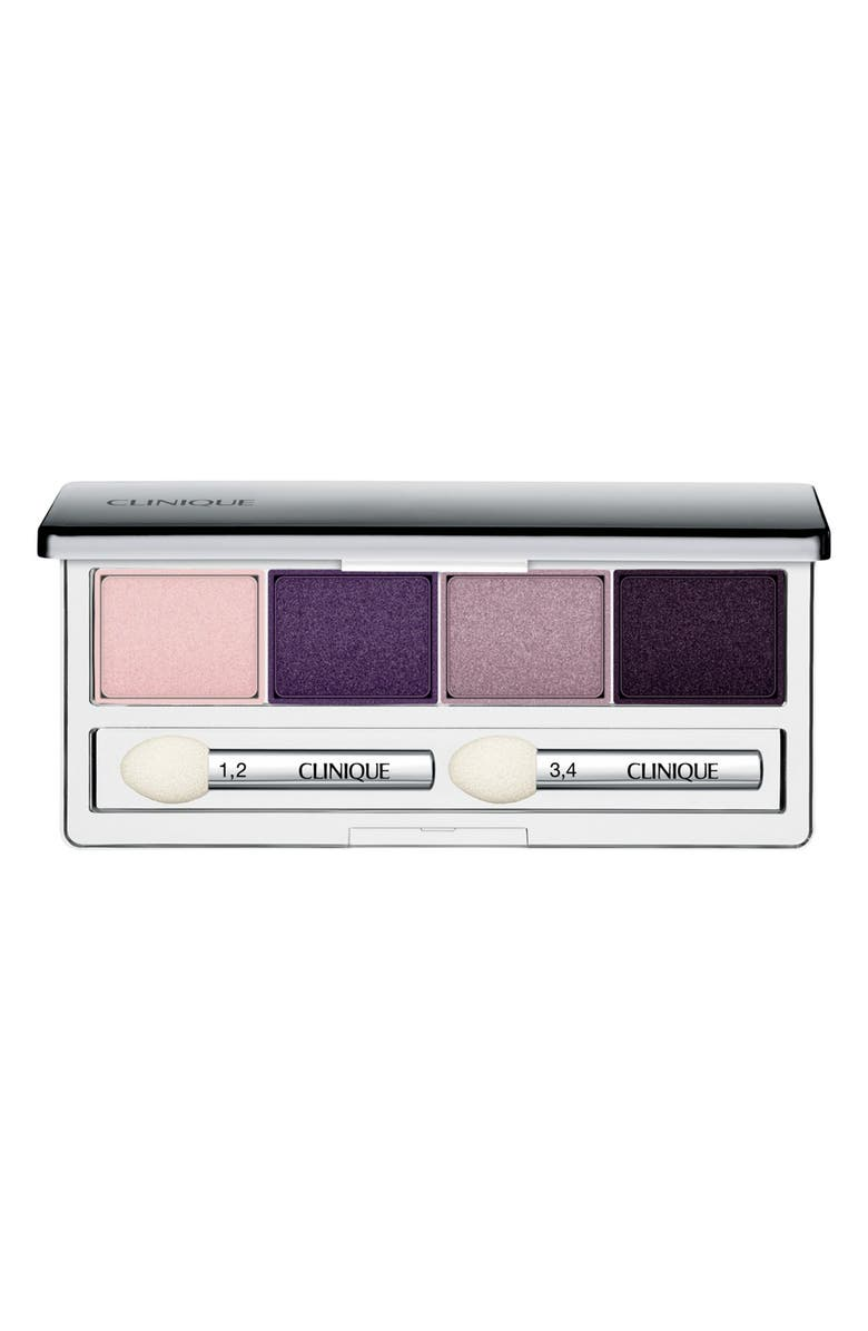 CLINIQUE All About Shadow Eyeshadow Quad, Main, color, GOING STEADY