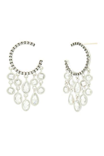 Image of Freida Rothman Chandelier Hoop Earrings