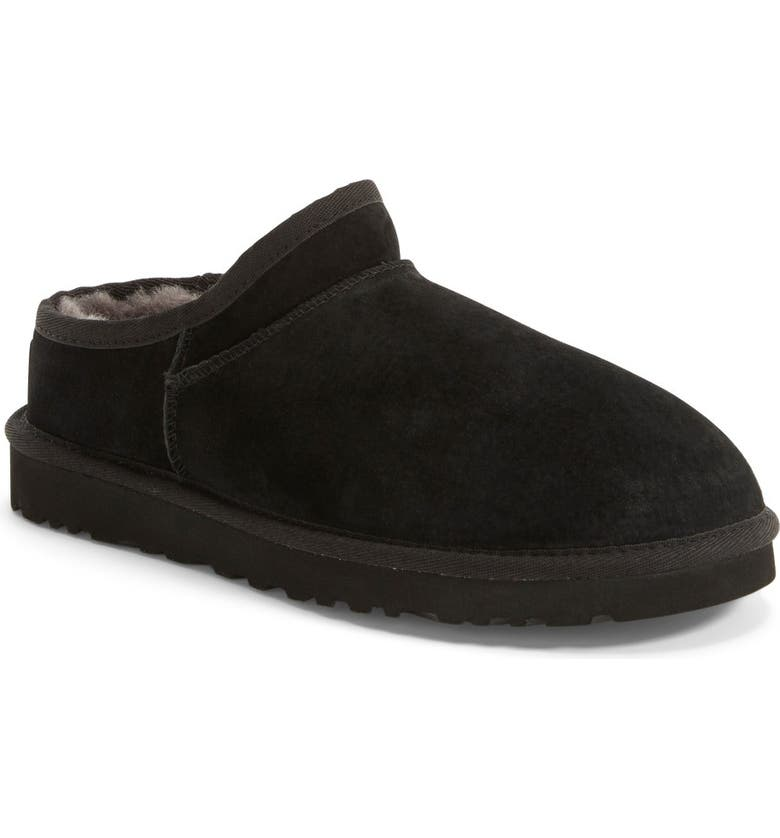 UGG<SUP>®</SUP> Classic Water ResistantSlipper(Women), Main, color, 001