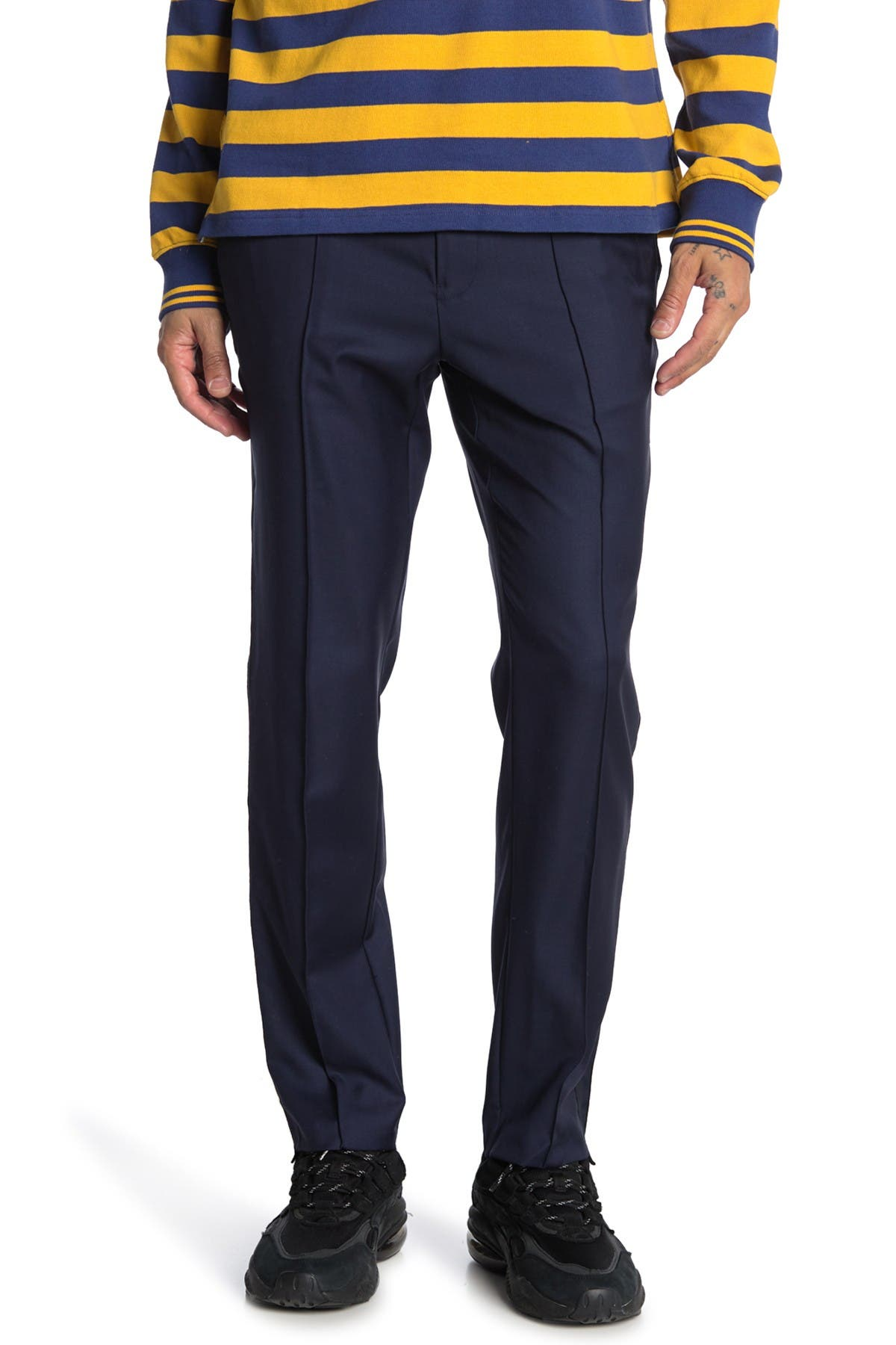 Image of OVADIA AND SONS Sideline Tailored Mid Rise Trousers