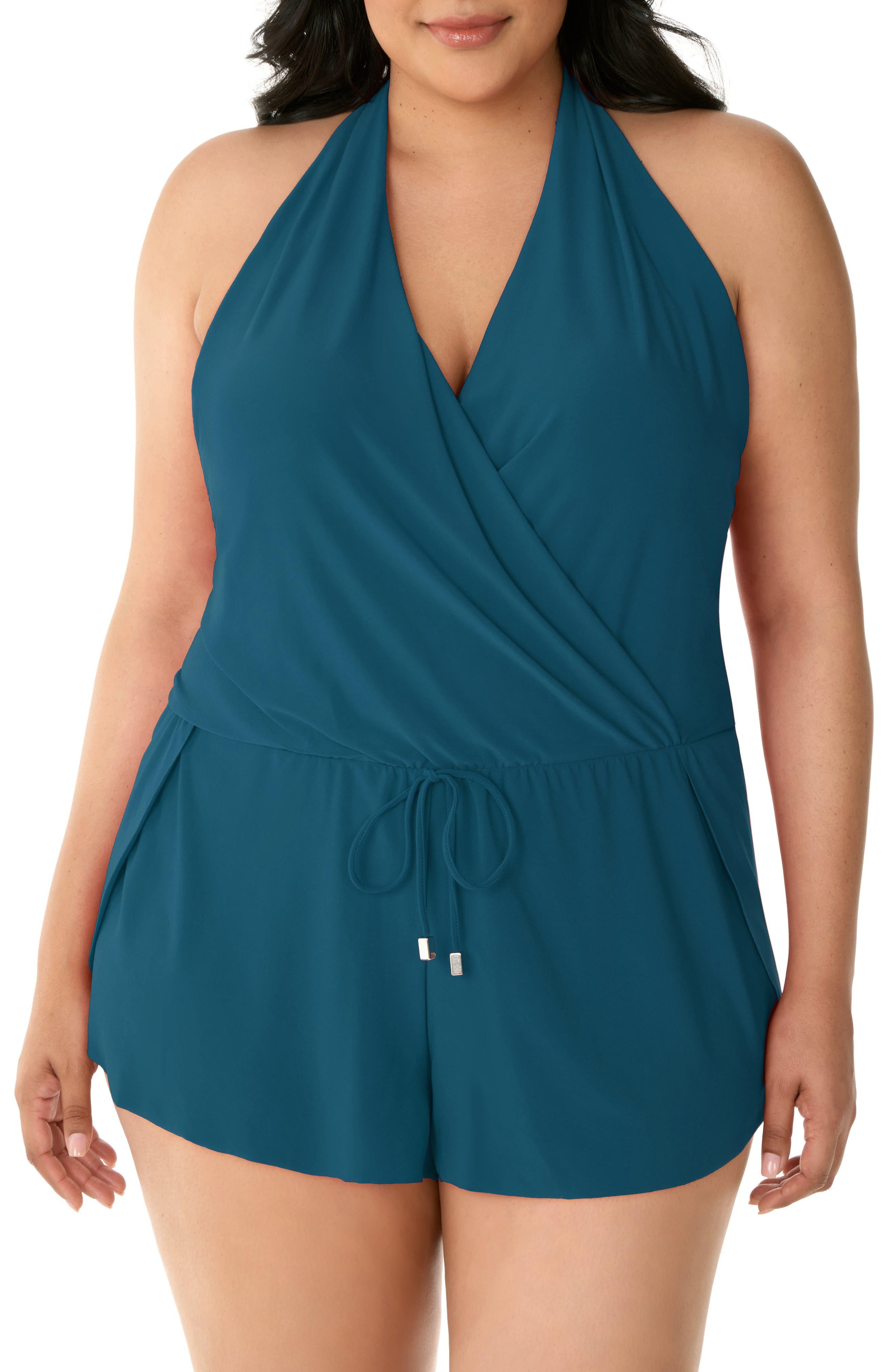 Plus Size Women's Magicsuit Bianca One-Piece Romper Swimsuit