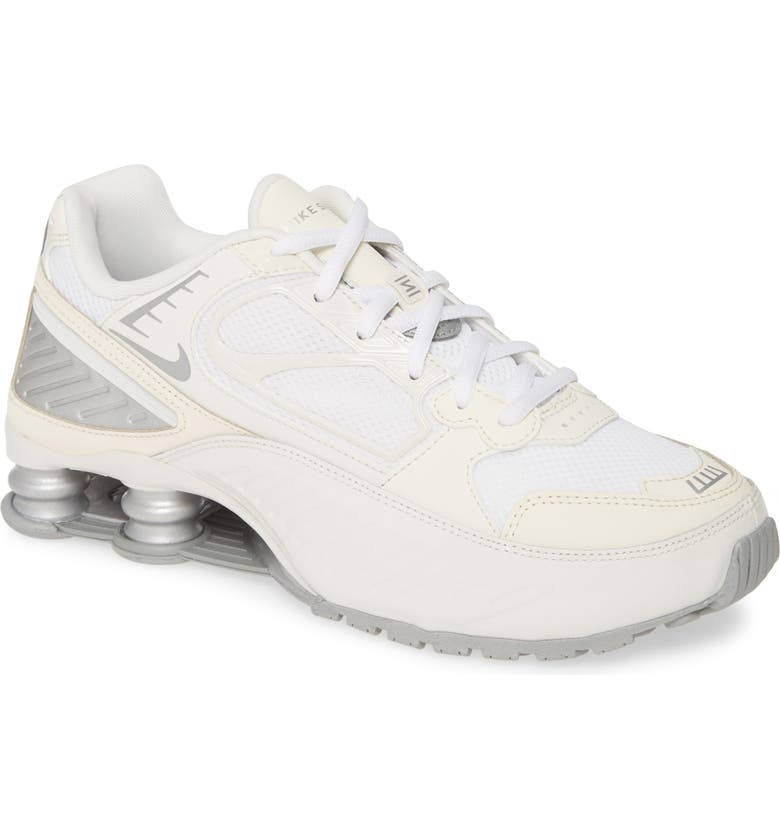 NIKE Shox Enigma Sneaker, Main, color, PHANTOM/ SILVER/ WHITE