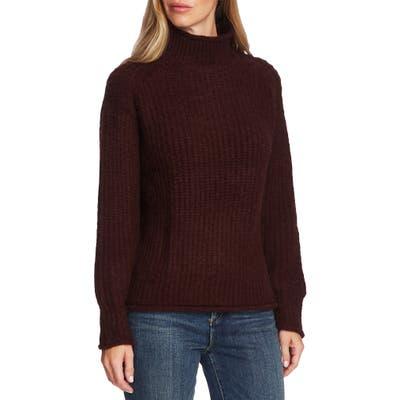Vince Camuto Mock Neck Sweater, Burgundy