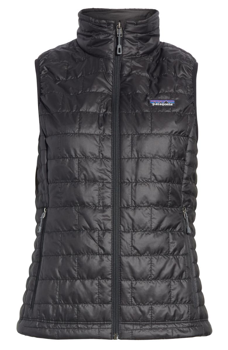 PATAGONIA Nano Puff<sup>®</sup> Insulated Vest, Main, color, BLACK