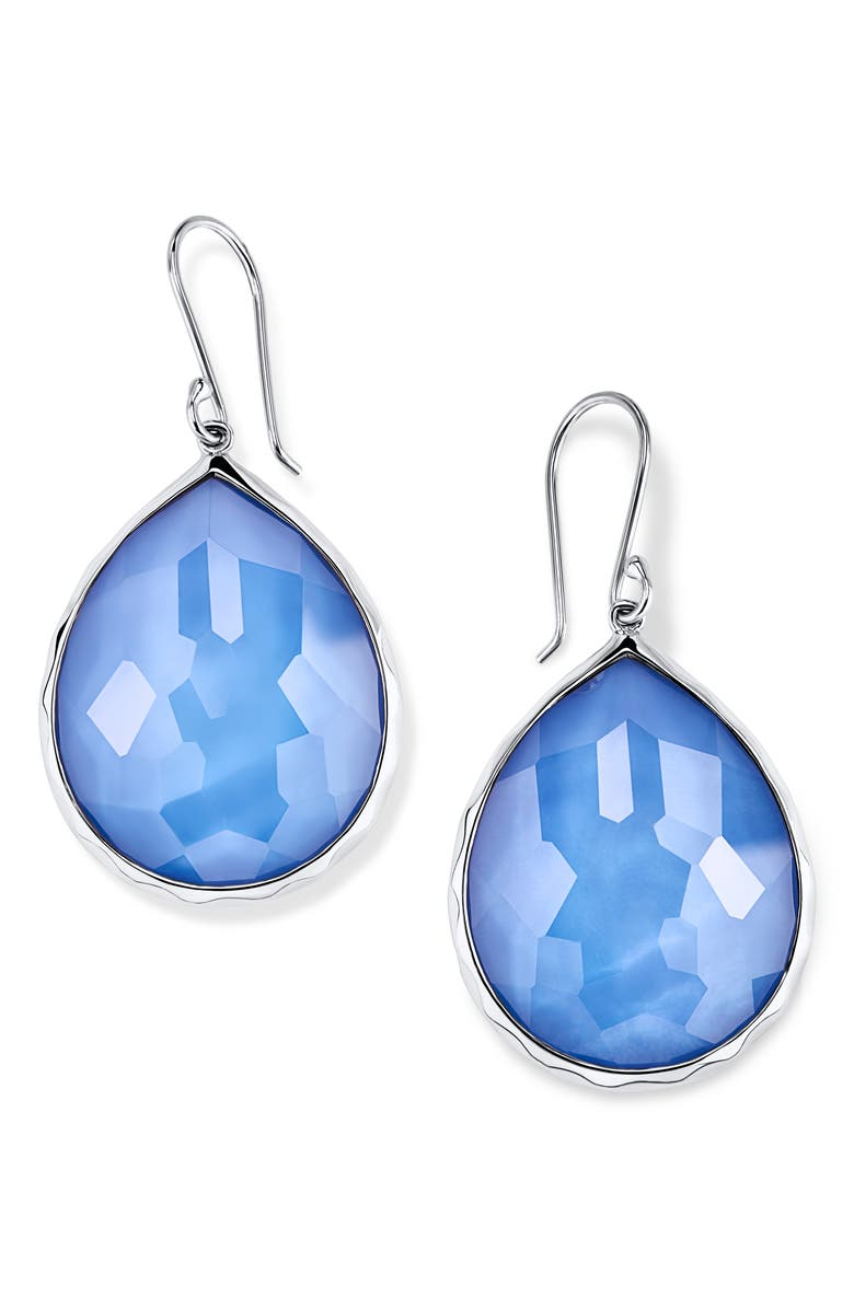 IPPOLITA Rock Candy Large Teardrop Earrings, Main, color, NORDIC