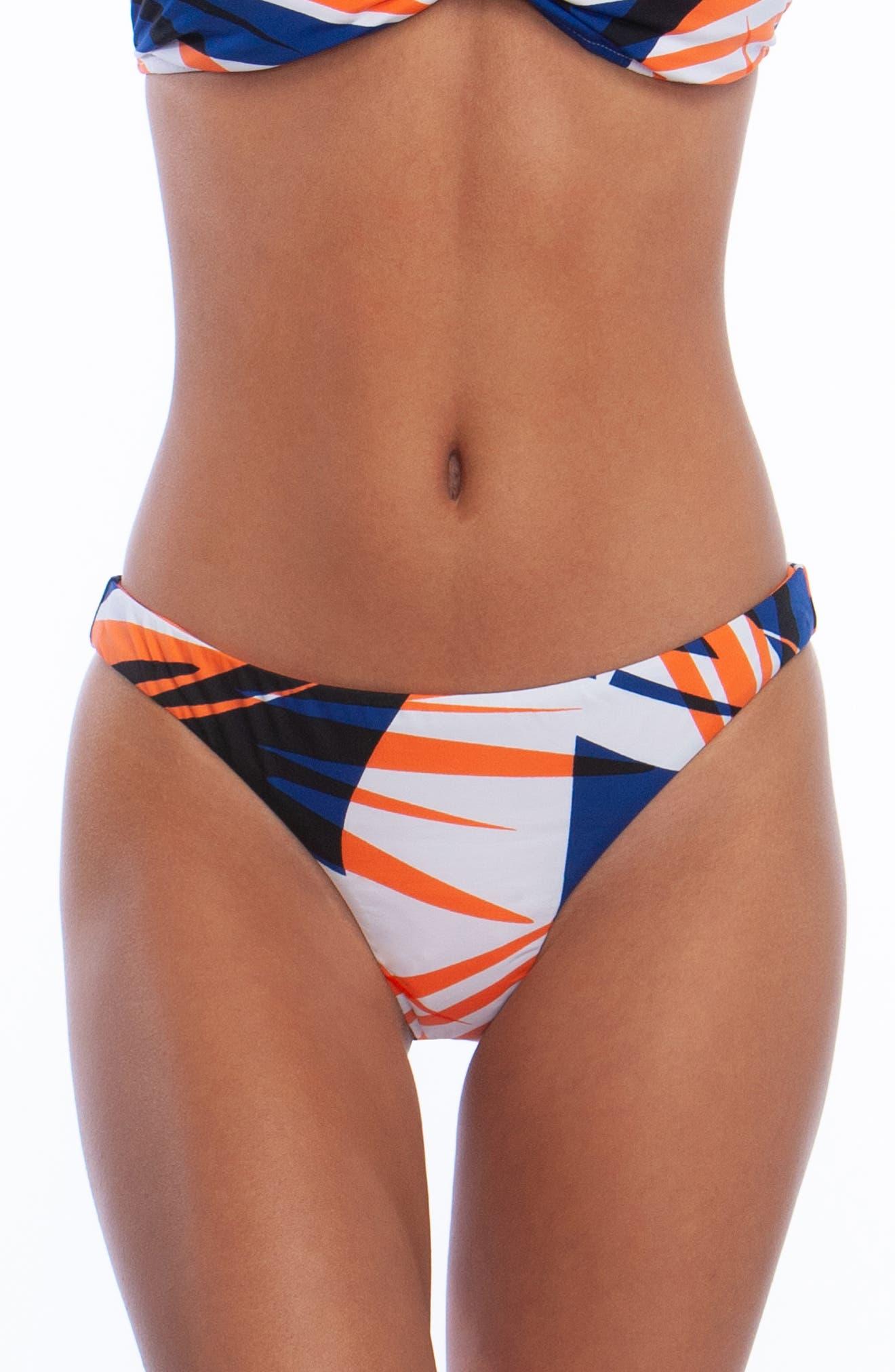 The Bikini Lab Sonic Boom Hipster Bikini Bottoms, White