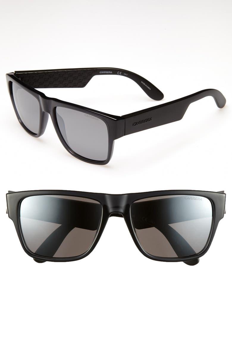 CARRERA EYEWEAR '5002' 55mm Sunglasses, Main, color, 021