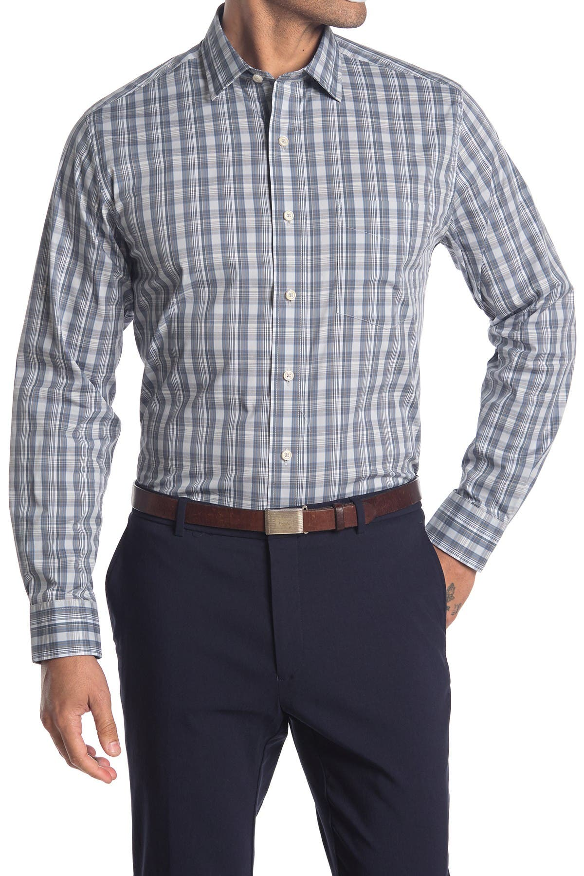 Image of Cole Haan Plaid Sport Shirt