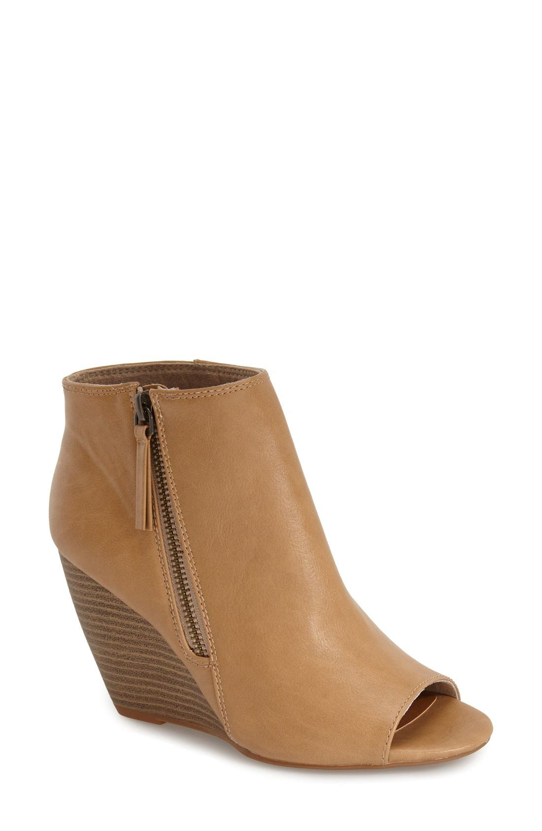 ,                             'Rebellion' Peep Toe Wedge Bootie,                             Main thumbnail 5, color,                             250