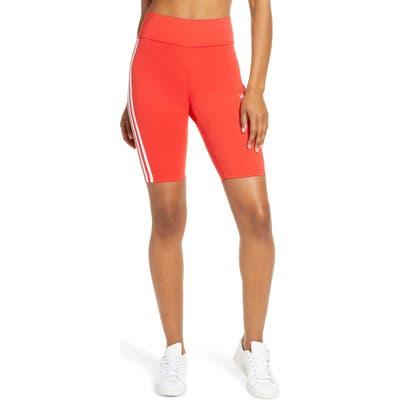 Adidas Originals Bike Shorts, Red