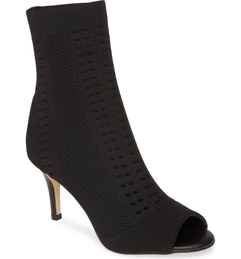 Allegra James Lina Open Toe Sock Bootie Women