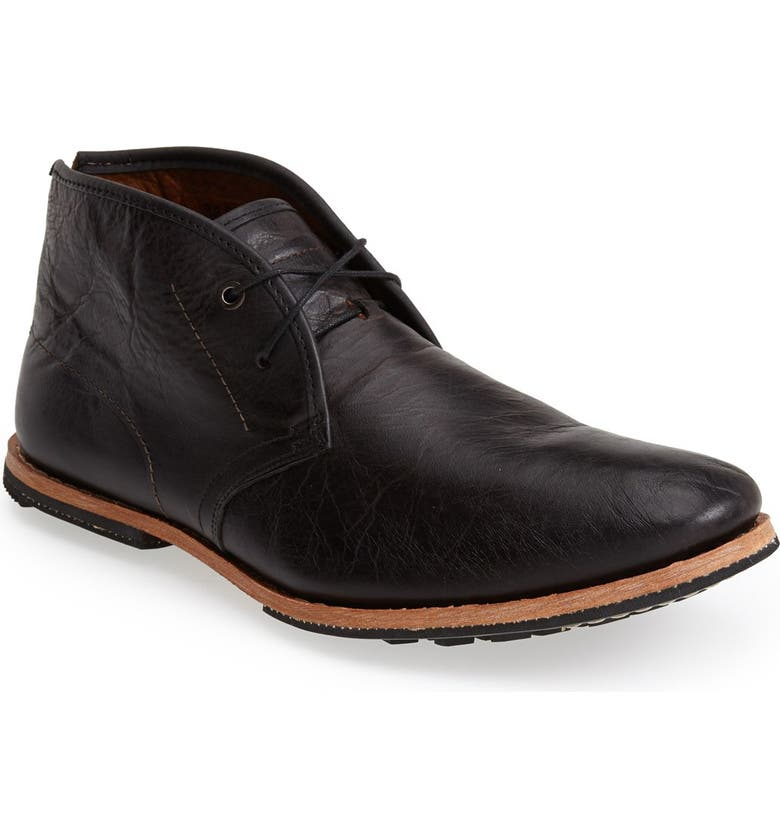 TIMBERLAND Wodehouse Chukka Boot, Main, color, BLACK LEATHER