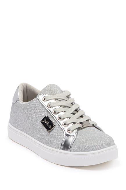 Image of bebe Calais Metallic Mesh Sneaker