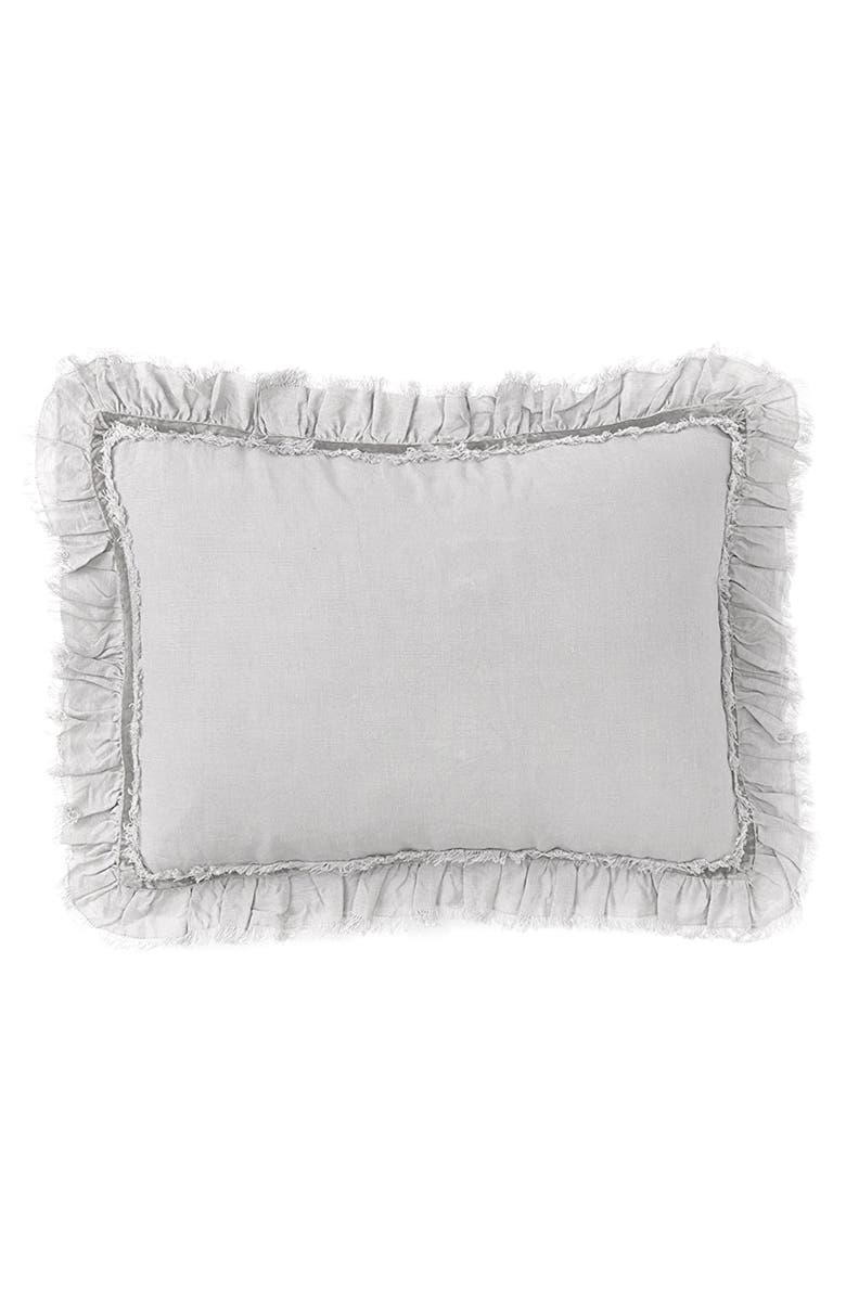 POM POM AT HOME Large Mathilde Accent Pillow, Main, color, SILVER
